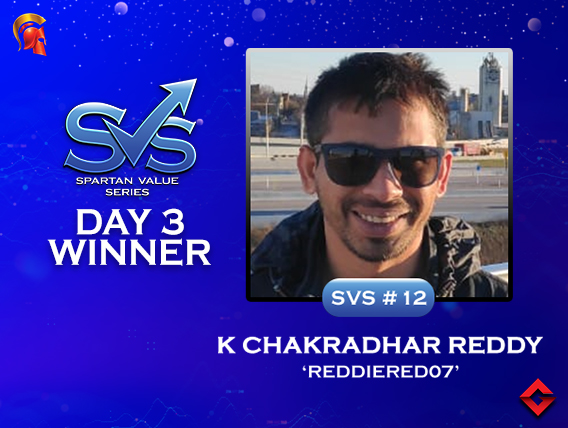 K Chakradhar Reddy among title winners on SVS Day 3