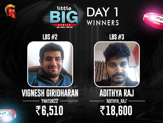 LBS Day1 Winner