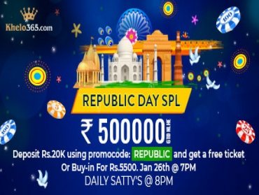 Lift your spirits this Republic Day only on Khelo365!