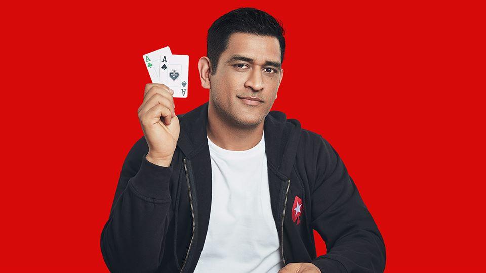 MS Dhoni signed as PokerStars India brand ambassador