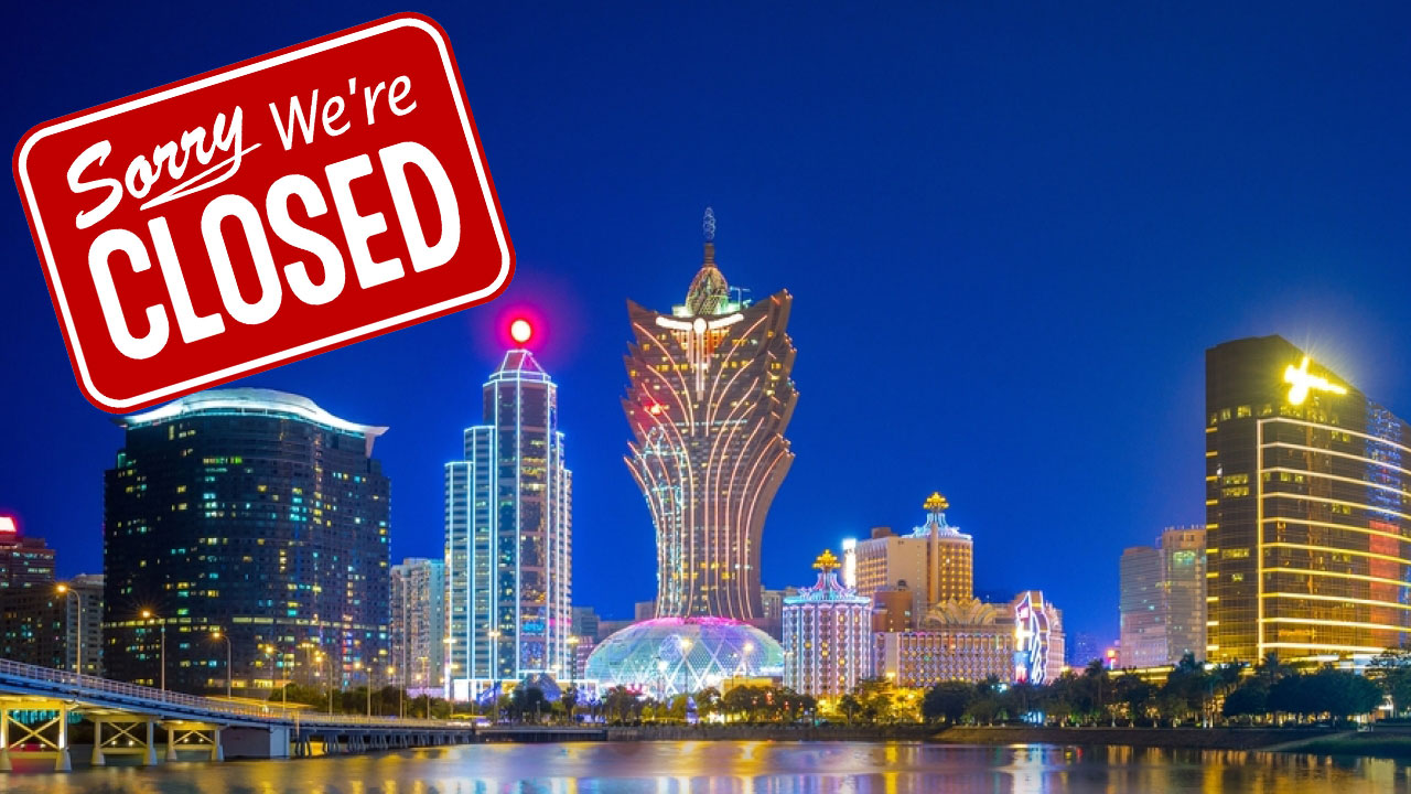 Macau to close casinos for two weeks over coronavirus