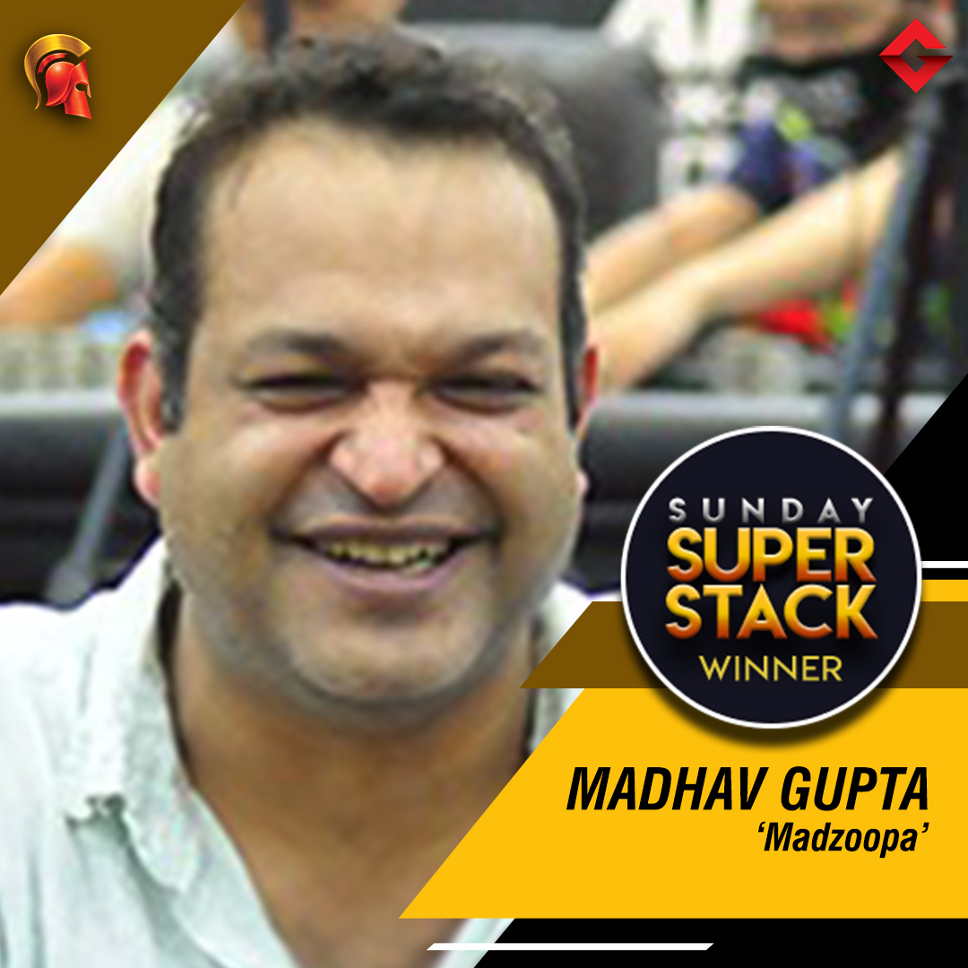 Madhav Gupta wins Sunday SuperStack on Spartan