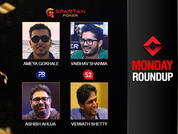 Monday Roundup: Ashish Ahuja grabs second consecutive titles!