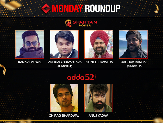 Monday Roundup: Parwal, Kwatra, Bhardwaj, Yadav win titles!