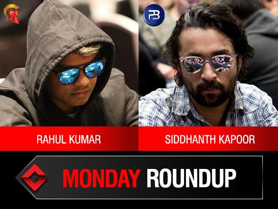 Monday Roundup: Rahul Kumar, Siddhanth Kapoor win titles