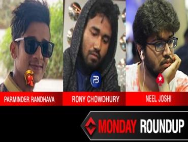 Monday Roundup: Randhava, Chowdhury, Joshi begin week well!