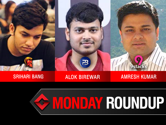 Monday Roundup: Srihari Bang grabs second consecutive ReCharge title!