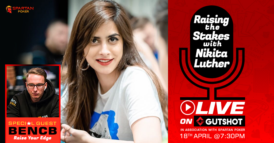Nikita Luther, Bencb do live webinar for poker community