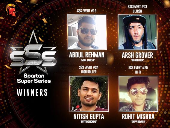 Nitish Gupta wins High Roller on SSS Day 4