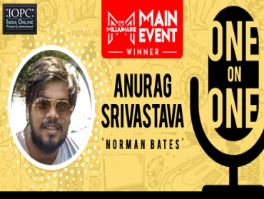 One-on-One: India's biggest online poker winner, Anurag Srivastava