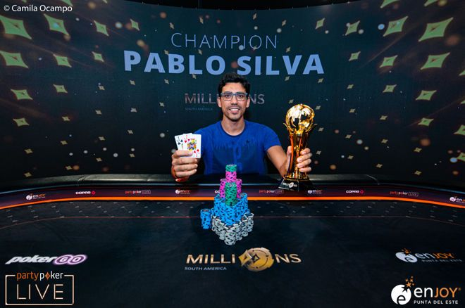 Pablo Silva wins partypoker MILLIONS South America Main Event!