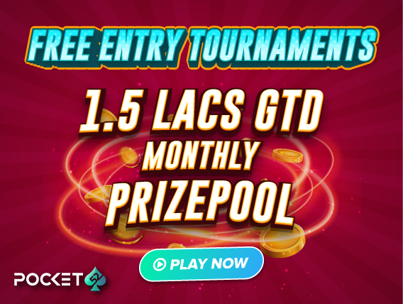 Pocket52 Free Entry Tournaments: Win From 1.5L Every Month!