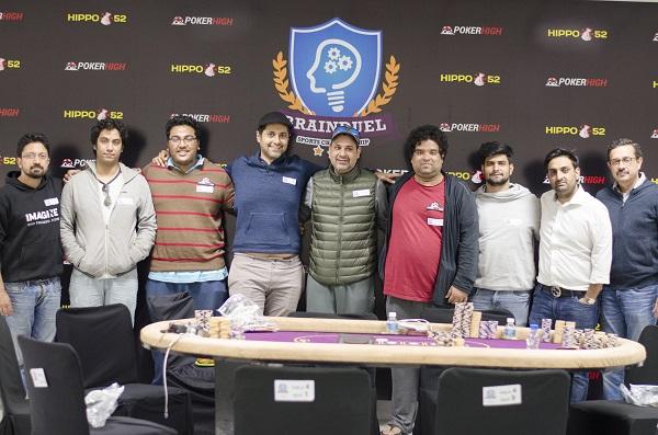 Poker High Brain Duel at Delhi