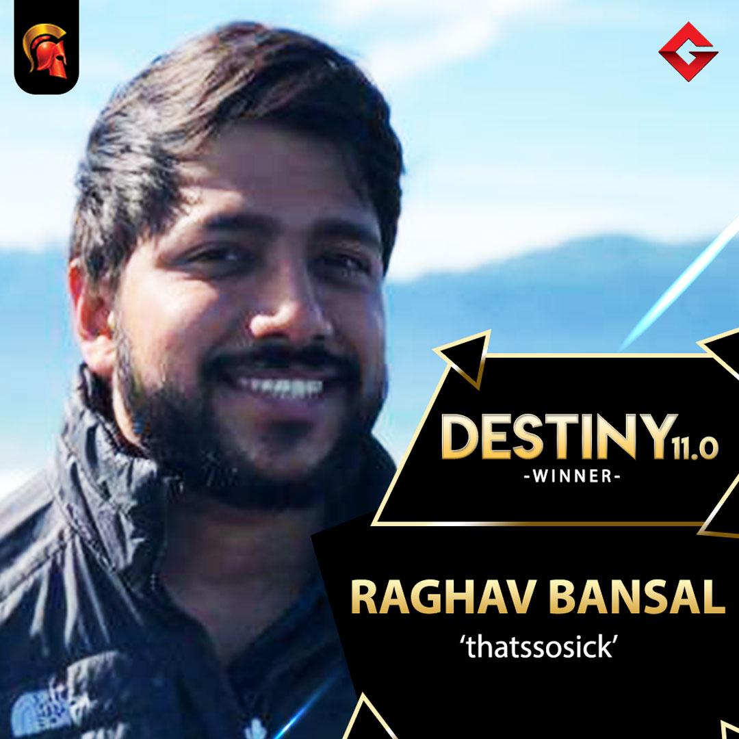 Raghav Bansal takes down Destiny 11.0 in Spartan