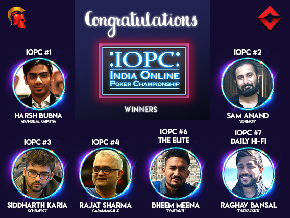 Rajat Sharma leads Day 1A of IOPC Millionaire X5!