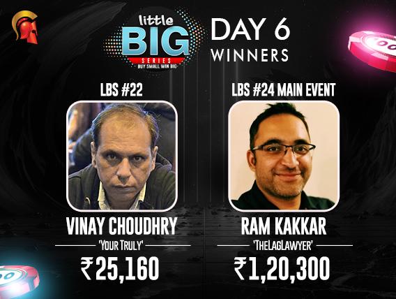Ram Kakkar and Vinay Choudhary LBS Winners
