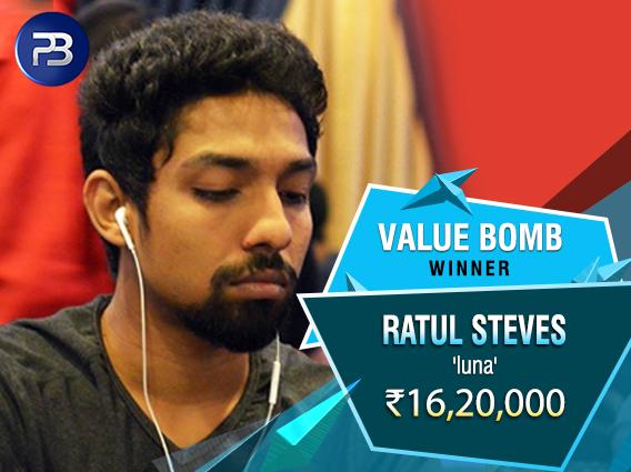 Ratul Steves PokerBaazi