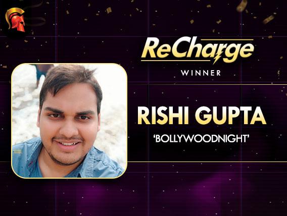 Rishi Gupta takes down ReCharge on Spartan