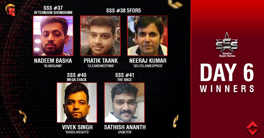 SSS Day 6: Vivek Singh takes down Mega Stack