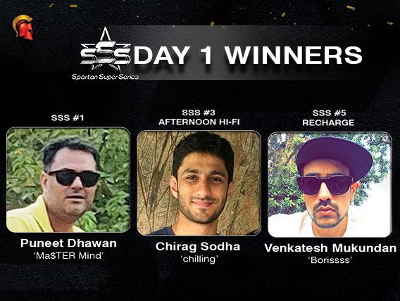 SSS Day 1: Dhawan, Mukundan, Sodha among title winners