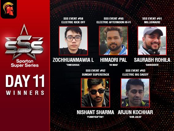 SSS Day 11: Saurabh Rohila is the latest SSS Millionaire!