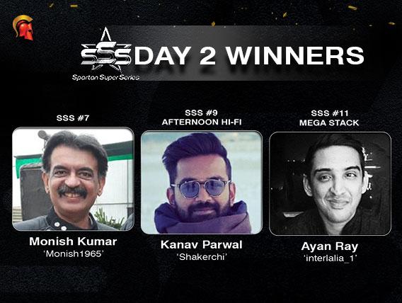 SSS Day 2: Kumar, Parwal, Ray among title winners