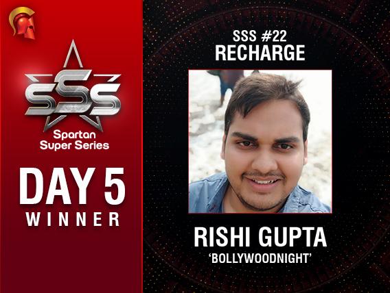 SSS Day 5: Rahul Lal and Rishi Gupta seize the day!