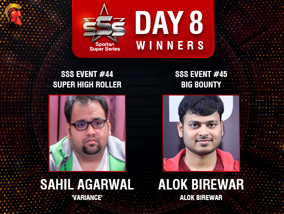 SSS Day 8: Agarwal and Birewar among title winners
