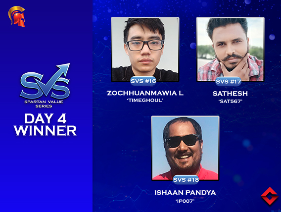 SVS Day 4: Sathesh bags third SVS title!