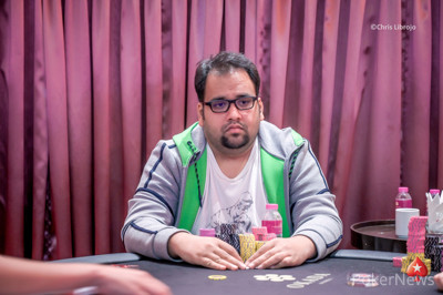 Sahil Agarwal leads Day 1A of 2020 Red Dragon Main Event