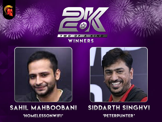 Sahil Mahboobani, Siddarth Singhvi win Oct 2oK on Spartan