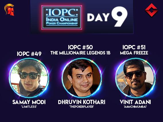 Samay Modi, Vinit Adani win titles on IOPC Day 9