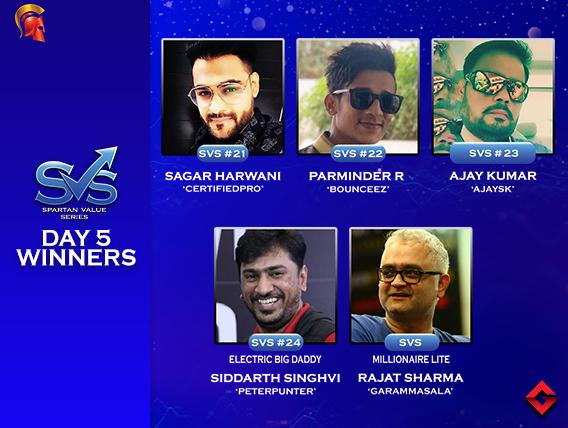 Siddarth Singhvi claims Electric Big Daddy on SVS Day 5!