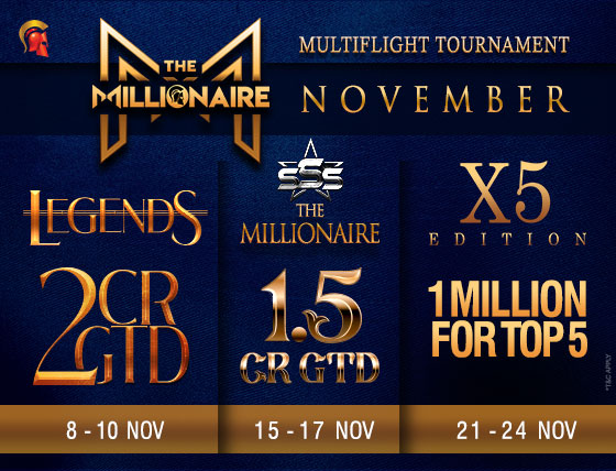 Spartan to crown 8 Millionaires this November!