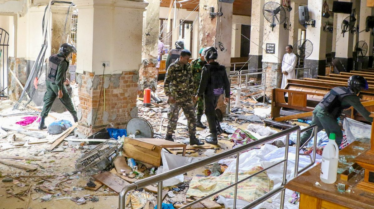 Srilanka-Bombings