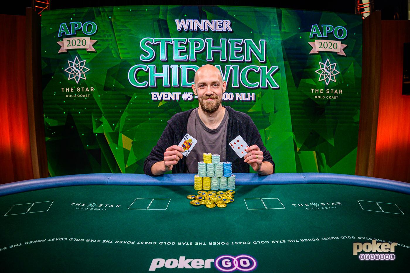 Stephen Chidwick wins the Australian Poker Open Champion!