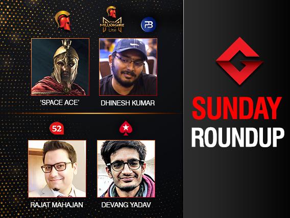 Sunday Roundup Dhinesh Kumar wins Millionaire Lite!