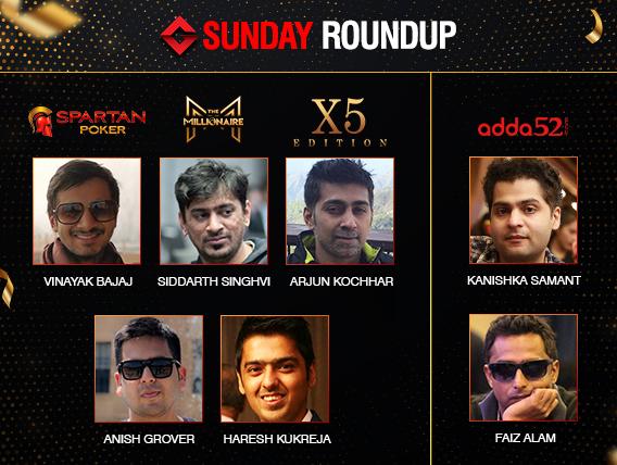 Sunday Roundup: Faiz Alam ships AOPS Main Event for 50L!