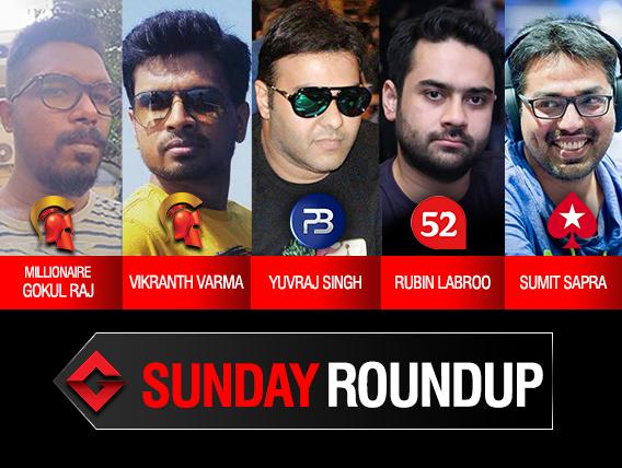 Sunday Roundup Gokul Raj wins SSS Millionaire on Spartan