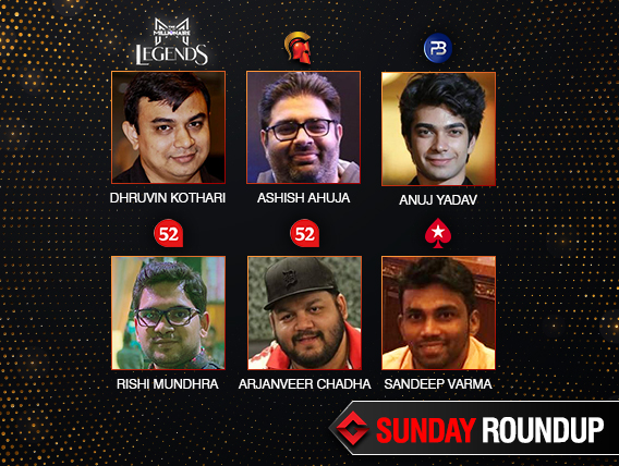 Sunday Roundup: Kothari, Ahuja, Mundhra, Chadha, Varma win majors