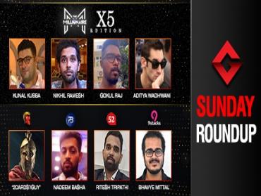 Sunday Roundup: Kubba, Ramesh, Raj, Wadhwani win Millionaire x5!