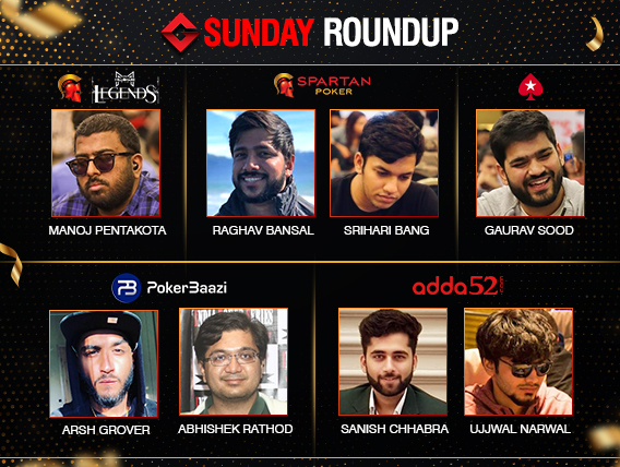 Sunday Roundup: Manoj Pentakota triumphs Millionaire Legends