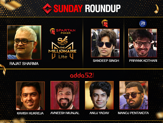 Sunday Roundup: Rajat Sharma takes down Millionaire Lite