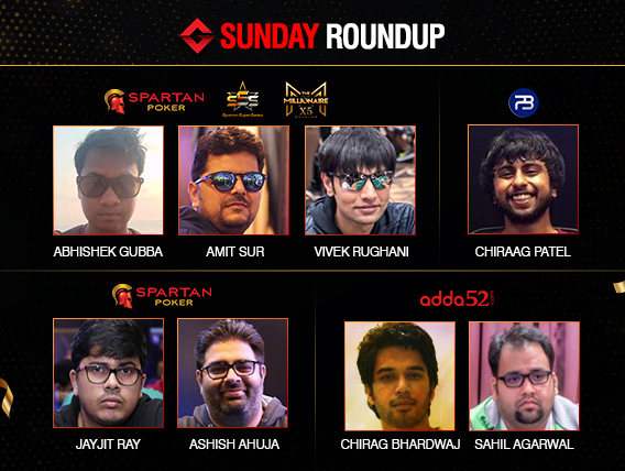 Sunday Roundup Sahil Agarwal wins INR 50L in AOPS Main Event!