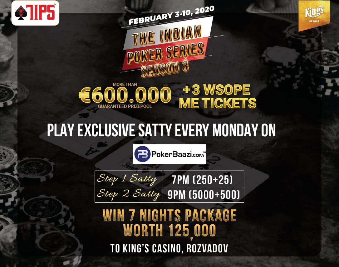 TIPS Season 3 joins hands with Spanish Poker Festival