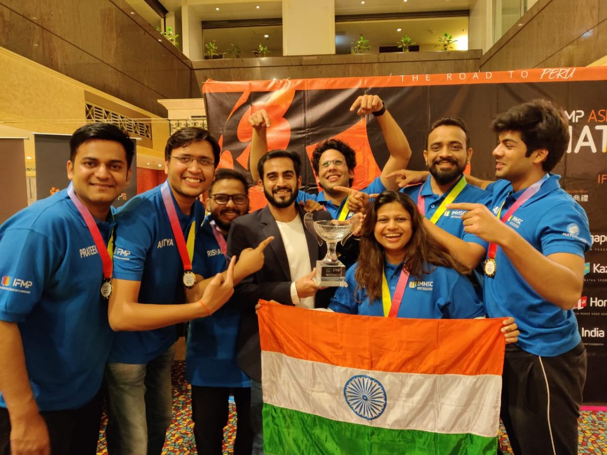 Team India becomes IFMP Asian Champions