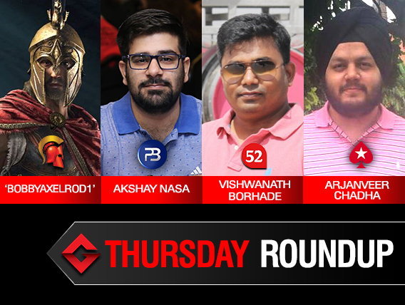 Thursday Roundup: Akshay Nasa takes down Summit on PokerBaazi