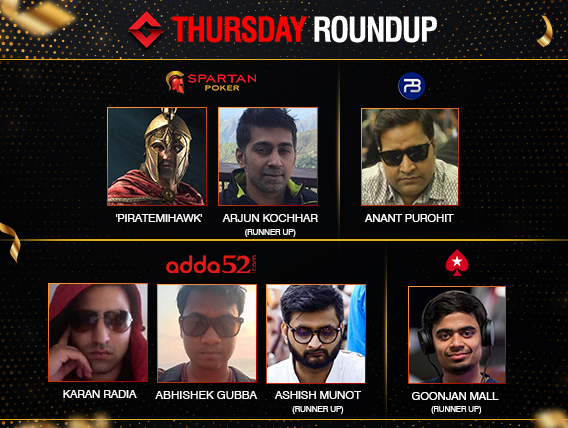 Thursday Roundup: Anant Purohit wins The Summit on PokerBaazi!