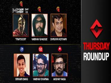 Thursday Roundup: Ghadge, Kothari, Bang, Sharma, Nasa win big!