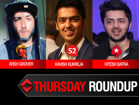 Thursday Roundup: Kavish Kukreja triumphs Godfather on Adda52